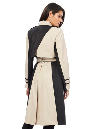 Новое пальто principles petite бежевый и черный плащ