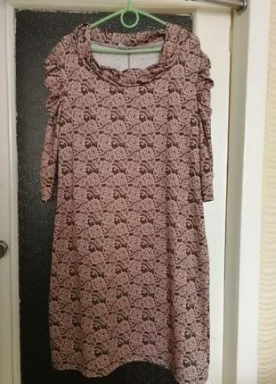 Платье (осень - зима) + ремень (на резинке)