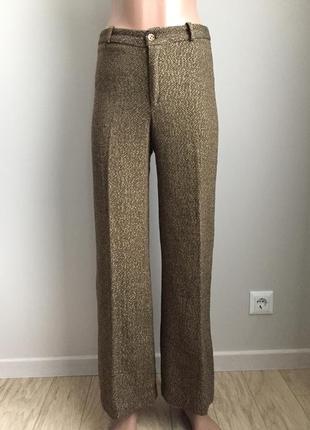 Тёплые брюки «ёлочка»