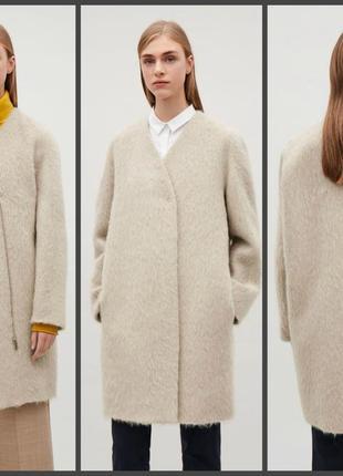 Скидка!👏обновы ежедневно👏роскошное пальто кокон cos,качество на высоте! (см.замеры)