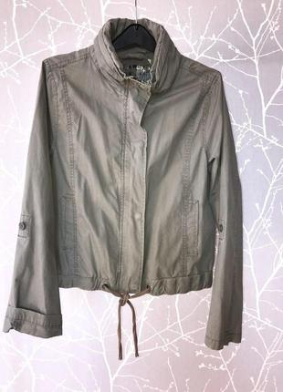 Куртка ветровка жакет в стиле милитари new look/14 размер