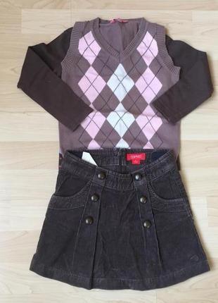 Комплект одежды на девочку 2-4 года