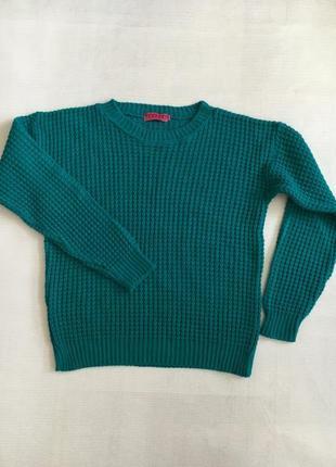 Изумрудный свитер от boohoo m-l
