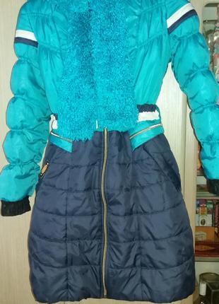 Пальто зимнее 158-165