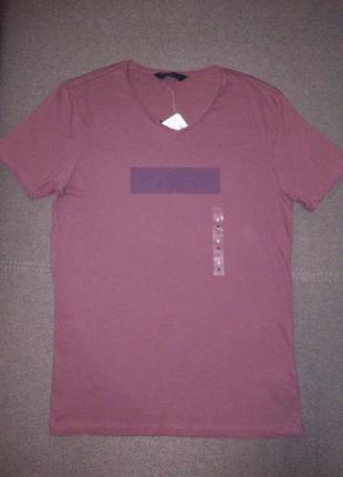 Коричневая футболка от lc waikiki