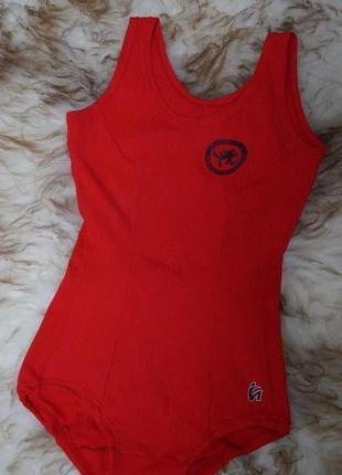 Спортивный тренировочный купальник для танцев или гимнастики