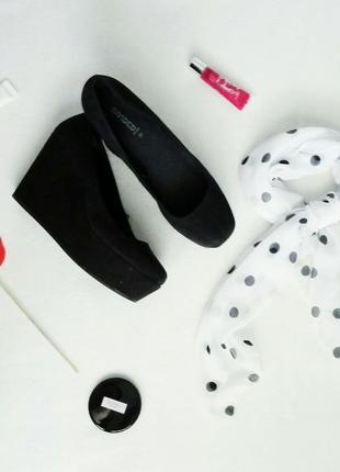 Новые стильные туфли на платформе divided by h&m