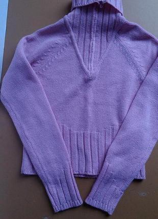 Теплый свитер с высоким горлышком terranova