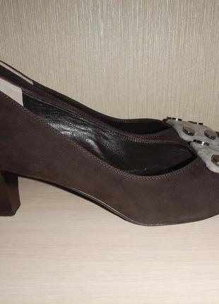 Итальянские кожаные туфли musella р.39