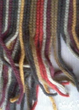 Вязаный длинный шарф от accessories.