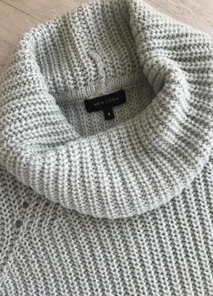 Супер свитер оверсайз с хомутом
