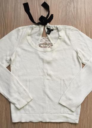 Нежный свитерок от h&m