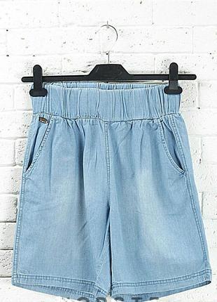 Шорты женские джинсовые, голубые - fransa