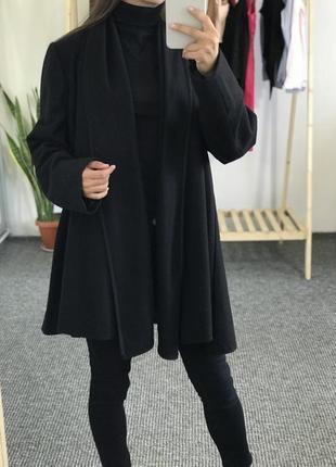 Шерстяная накидка пальто f&f 44-46