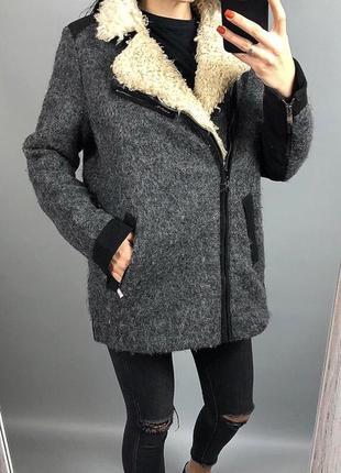 Пальто шерсть шерстяное косуха