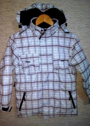Лыжная куртка на мальчика немецкого бренда atrium