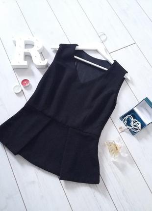 Старт огромных скидок! лаконичная базовая блуза из фактурной ткани..#00236