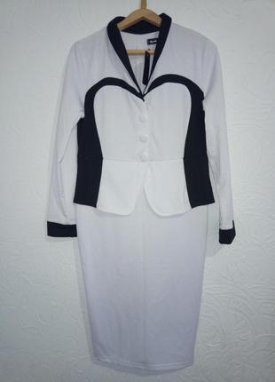 Платье обманка костюм, 1+1=3