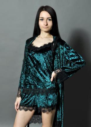 💥💥💥скидка💥💥💥 комплект (халат + пижама)