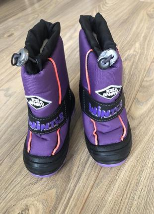 Дутики сапожки сапоги сноубутусы ботинки детские