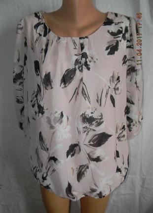 Нежная блуза большого размера f&f