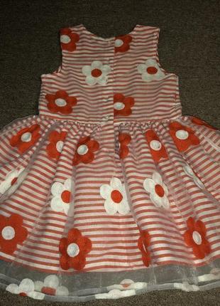 Обалденное платье с вышитыми цветами3
