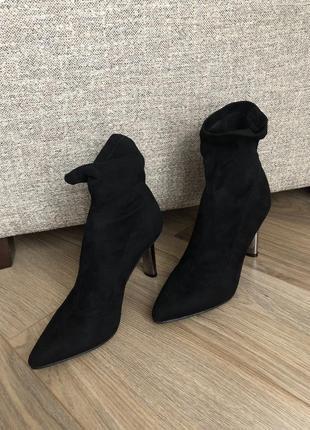 Классические ботинки чулки 36,37,38,39,40