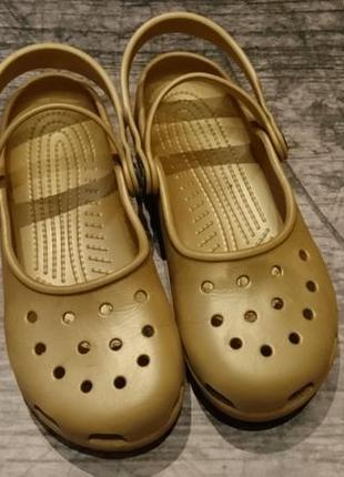 Боссоножки, сандали кроксы crocs karin clog 35