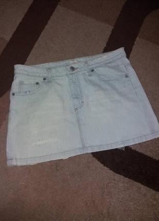 Актуальная  джинсовая юбка pinko