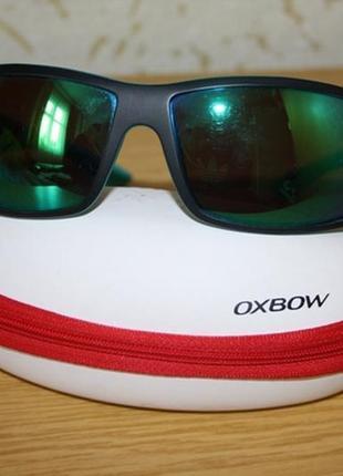 Спортивные зеркальные очки oxbow, оригинал+футляр
