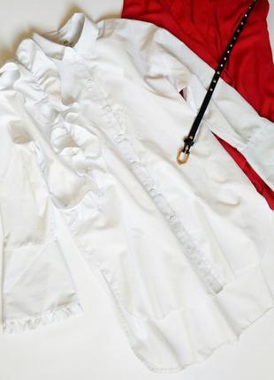Шикарная блузка блуза с рюшами