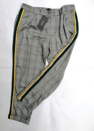 Zara штаны брюки с лампасами