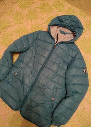 Зимняя куртка подростку 164 см