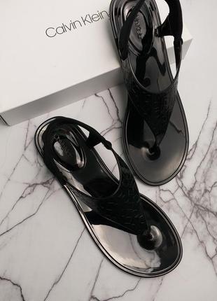 Calvin klein черные босоножки сандалии оригинал из сша
