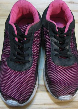 Лёгкие невесомые беговые кроссовки на пенке стелька 22см 35 размер