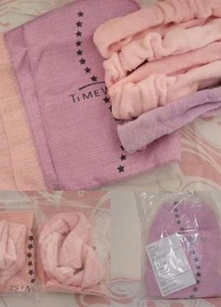Набор косметических повязок и полотенц мери кей, mary kay
