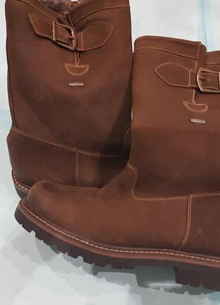 Теплые новые кожаные мужские сапоги fretz men. швейцария
