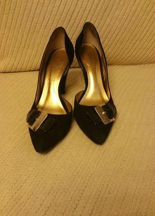 Туфли dumond, бразилия, замшевые, размер 40