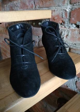 Замшевые ботинки 5th avenue