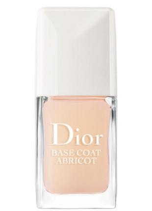 Укрепляющая основа под лак длительного действия dior base coat abricot 9 мл