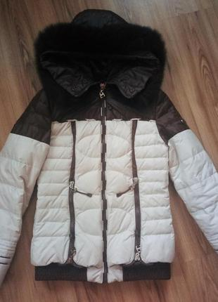 Зимняя тёплая курточка