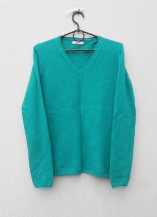 Осений зимний свитер вискоза котон шерсть кашемир с длинным рукавом