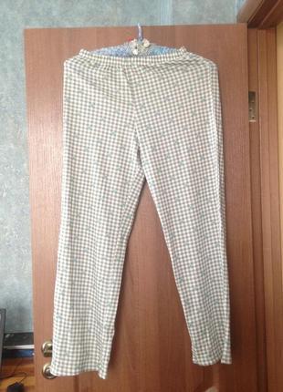 Трикотажные домашние штаники штанишки пижама marks&spencer р.8-10 s-m.хит продаж!