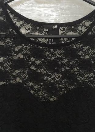 Супер-обтягивающее гипюровое платье2 фото