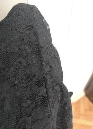 Супер-обтягивающее гипюровое платье3 фото