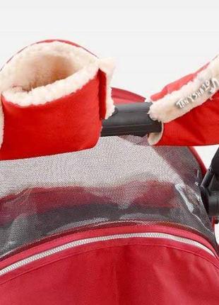 Муфты рукавички на коляску