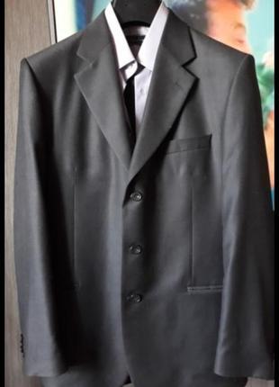 Крутой костюм арбер темный