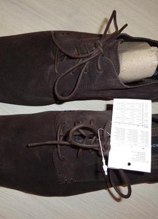 Новые мужские замшевые туфли rockport adiprene by adidas eur 46
