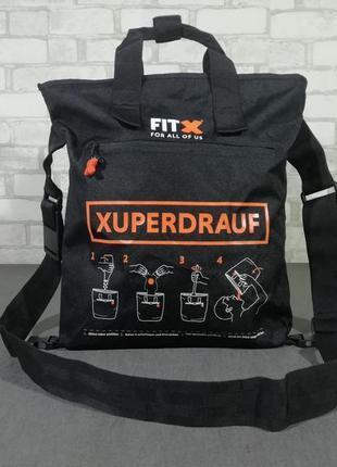 Фирменная спортивная сумка fitx xuperdrauf