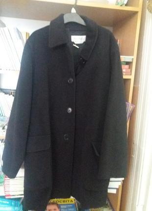 Оригинал пальто полупальто- оверсайз- кокон max mara  италия  теплое  осенне  зимнее